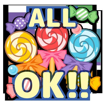 【特売!】キャンディ ALL OK