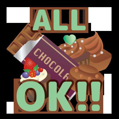 【特売!】チョコレート ALL OK