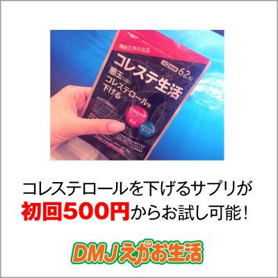 実質半額!【お試しモニター】コレステ生活 悪玉(LDL)コレステロールを下げる