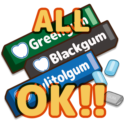 【特売!】ガム ALL OK