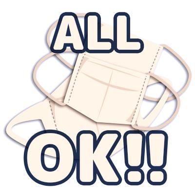 【特売!】マスク ALL OK