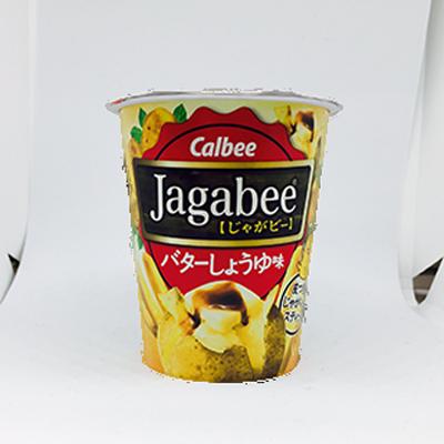 【ローソン限定】カルビー Jagabee うすしお味/バターしょうゆ味