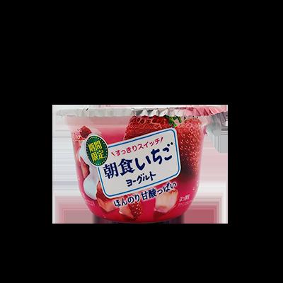 【スーパー限定】グリコ 朝食いちごヨーグルト