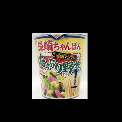 【ローソン限定】サンヨー食品 ご当地マシマシ たっぷり野菜 長崎ちゃんぽん