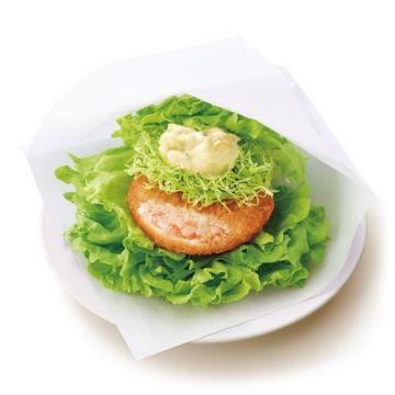 モスの菜摘(なつみ)海老カツ