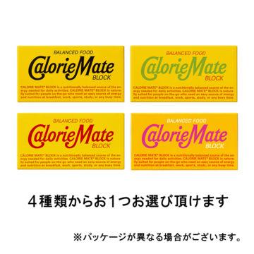 カロリーメイト ブロック 2本入り 4種類から1つ(チーズ味・フルーツ味・チョコレート味・メープル味)